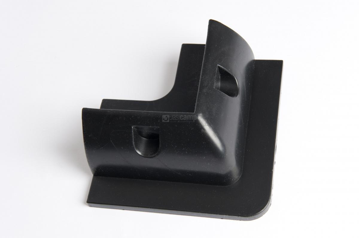 Hoekstukken kunststof zwart zonnepanelen beaut per stuk. nr.sku 002
